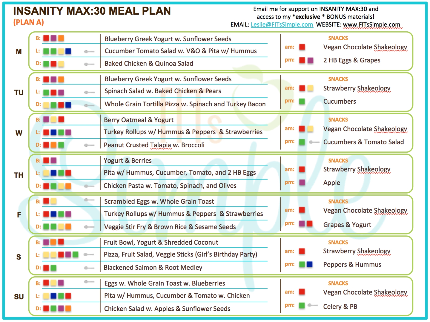 Hch Road2Fitness: Insanity Max 30 Calendar within Insanity Max 30 Calendar Month 2