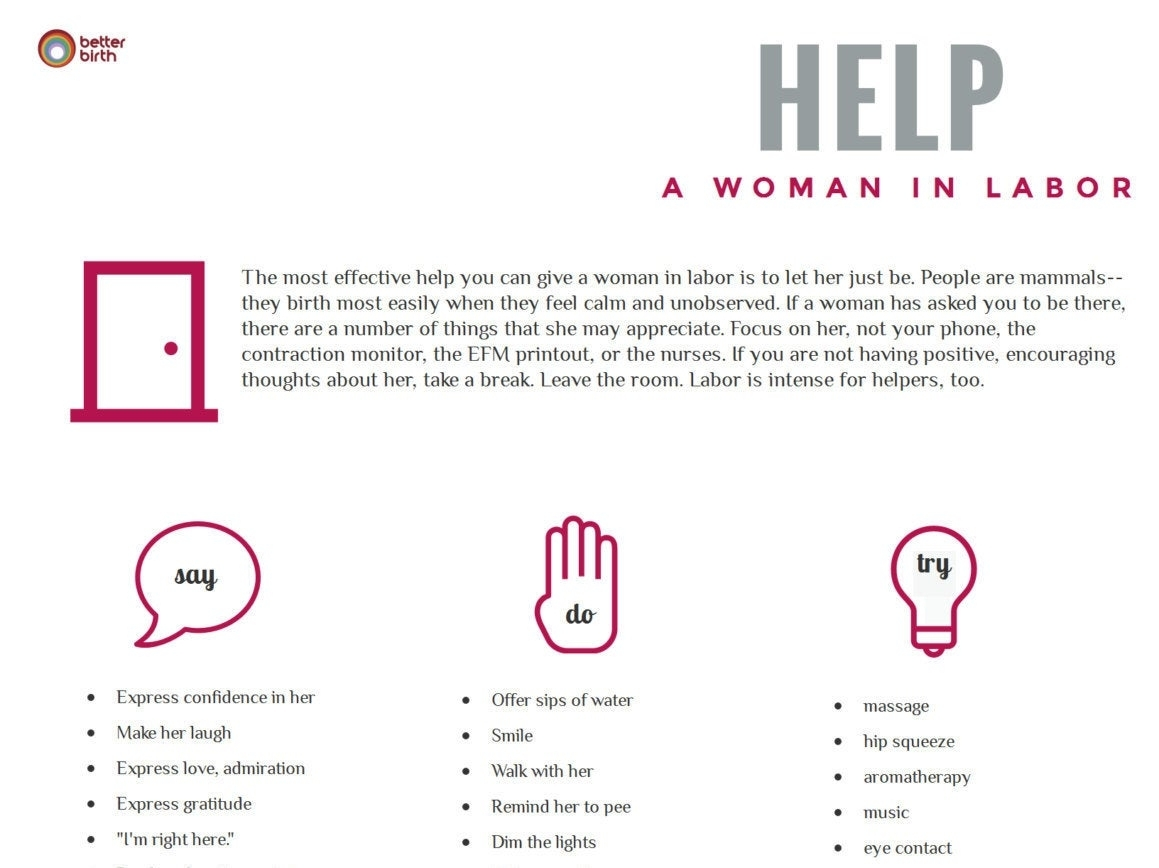 Help A Woman In Labor-Dad Saver-Printable Reference Sheet | Etsy throughout Pritable Timing Chart For Labour Contractions