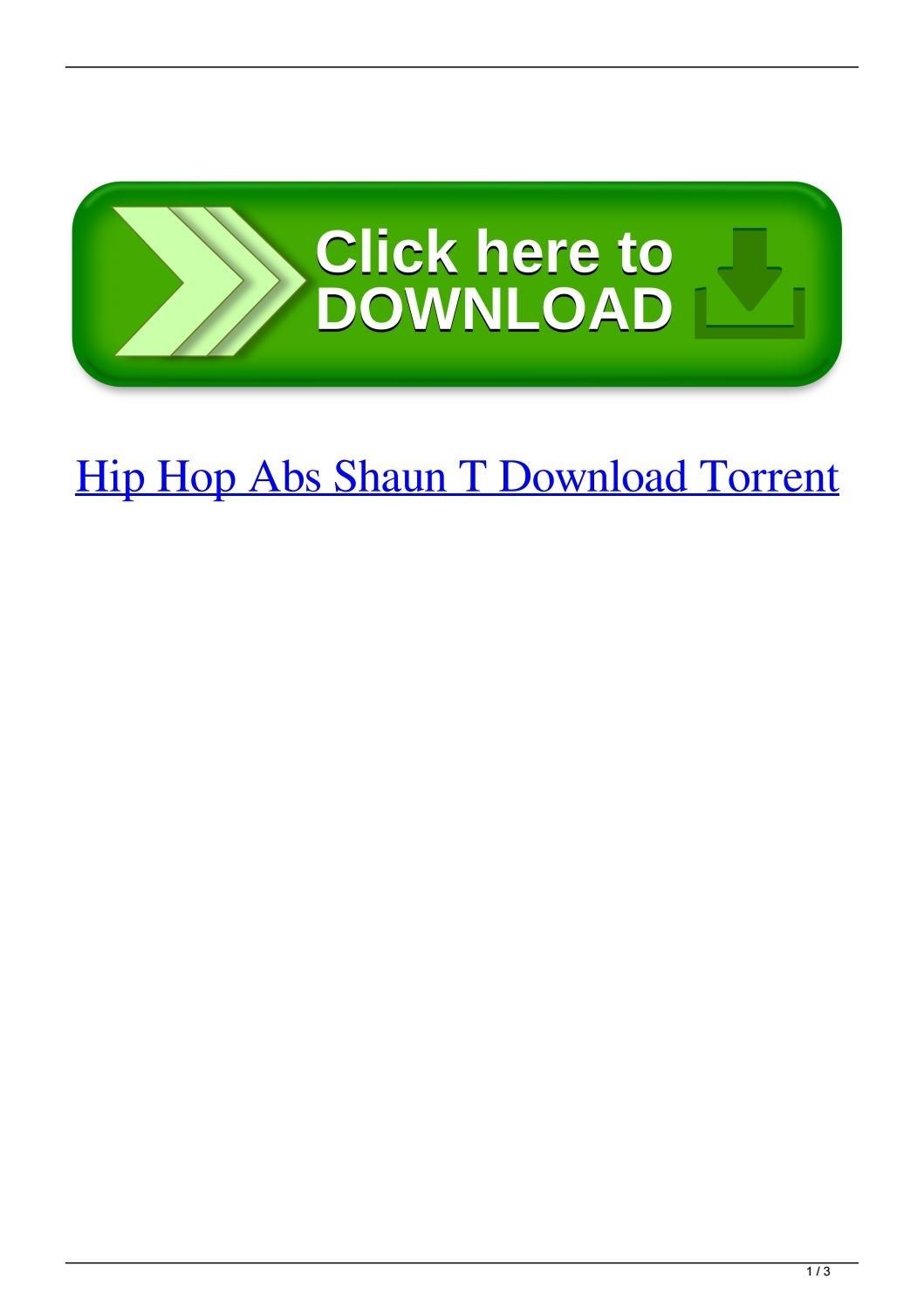 Hip Hop Abs Shaun T Download Torrentlaytinoutri - Issuu with regard to Hip Hop Abs Calendar Pdf