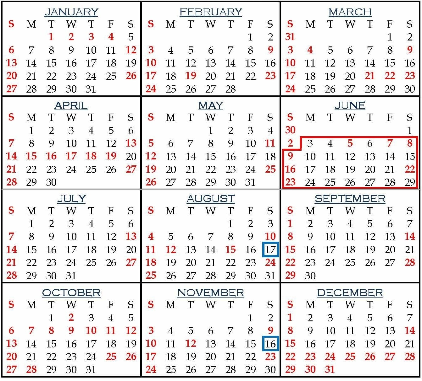 Holiday List For Employees Of Punjab And Haryana High Court, 2019 for Calendar For Employees Vacation List