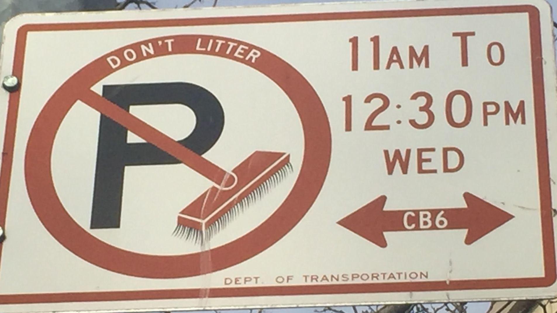 Holidays That Suspend Alternate Side Parking In Nyc in Nyc Parking Map Alternate Side