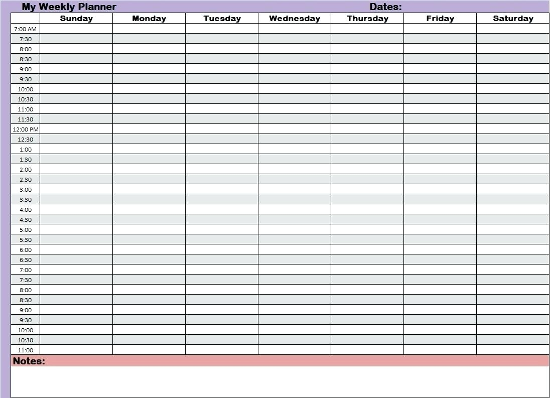 Hour Daily Schedule Template Free Pdf | Smorad pertaining to 24 Hour Daily Agenda Printable