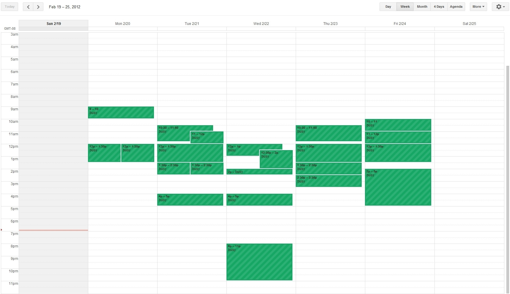 How Can I Create A Weekly Calendar View For An Android Honeycomb pertaining to How To Create A Weekly Calendar