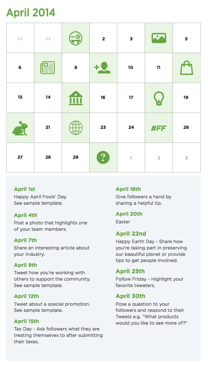 How To Create A 90-Day Content Calendar (With Free Templates) throughout Social Media Content Calendar Examples