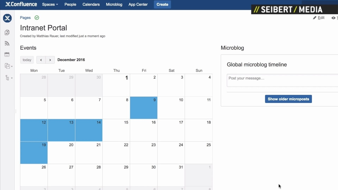 How To Create An Event Calendar In Atlassian Confluence - Youtube in Set Up An Event Calendar