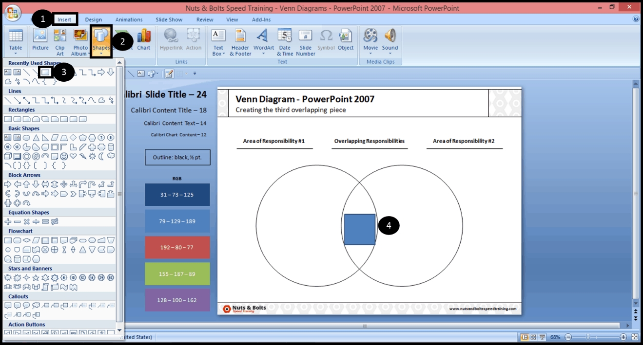 How To Make The Overlapping Part Of A Venn Diagram In Powerpoint with regard to How To Overlap Pictures Microsoft Word 2013