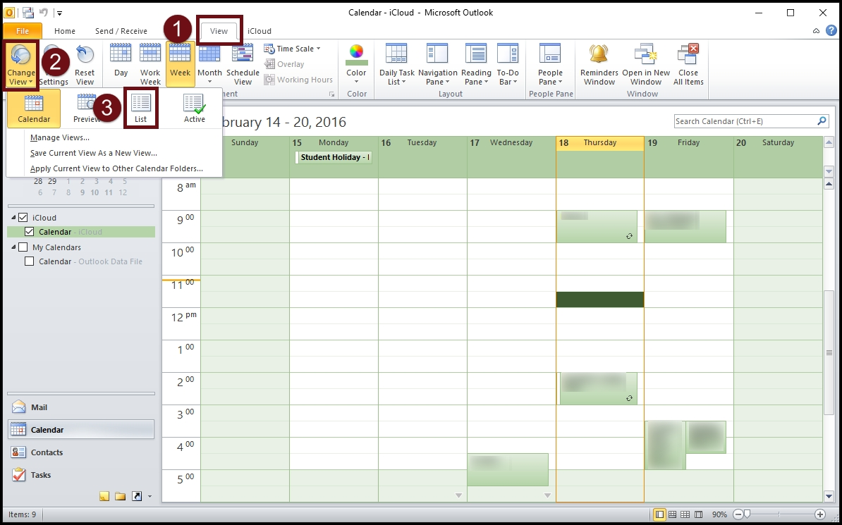 How To Sync Icloud Calendar To Outlook | Akrutosync with How To See A Calendar In Outlook