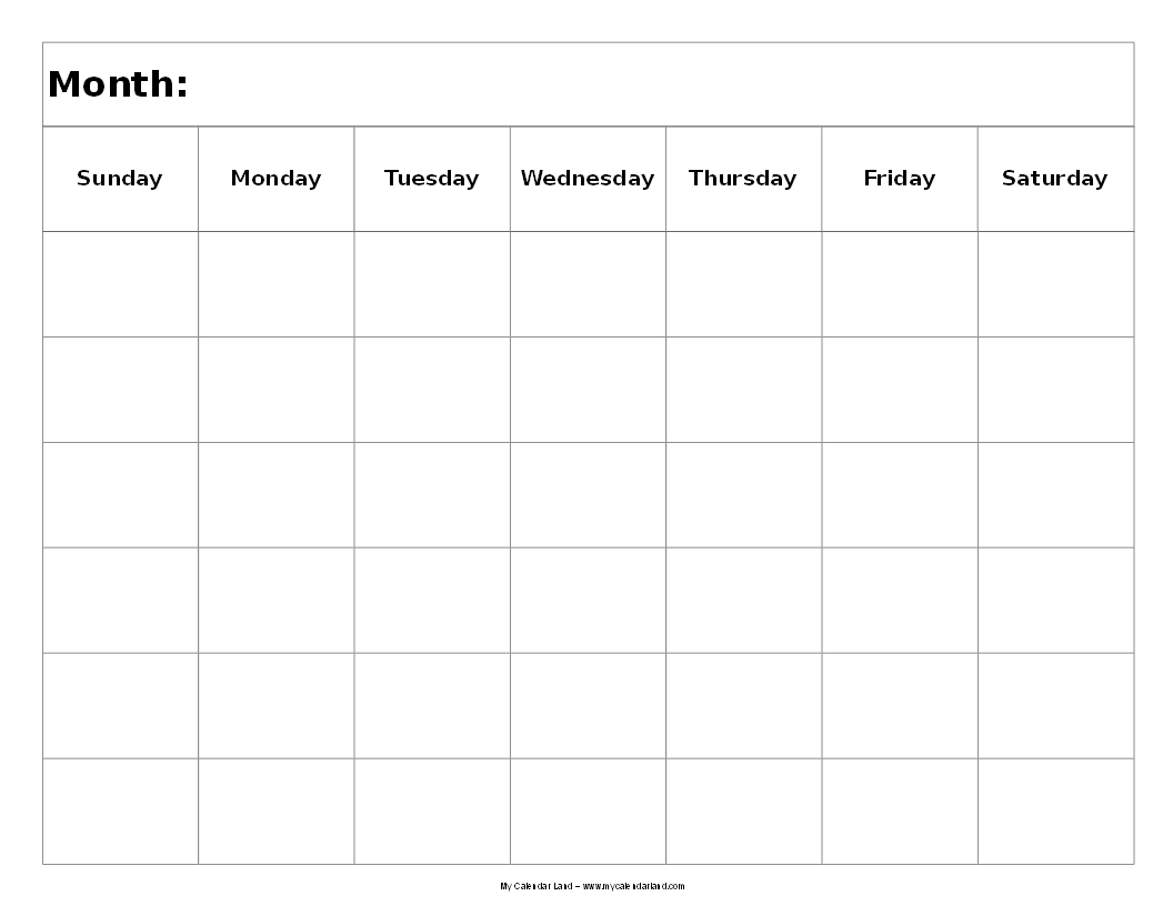Images Of Days Of The Week Calendar For One Month | Template pertaining to Images Of Days Of The Week Calendar For One Month