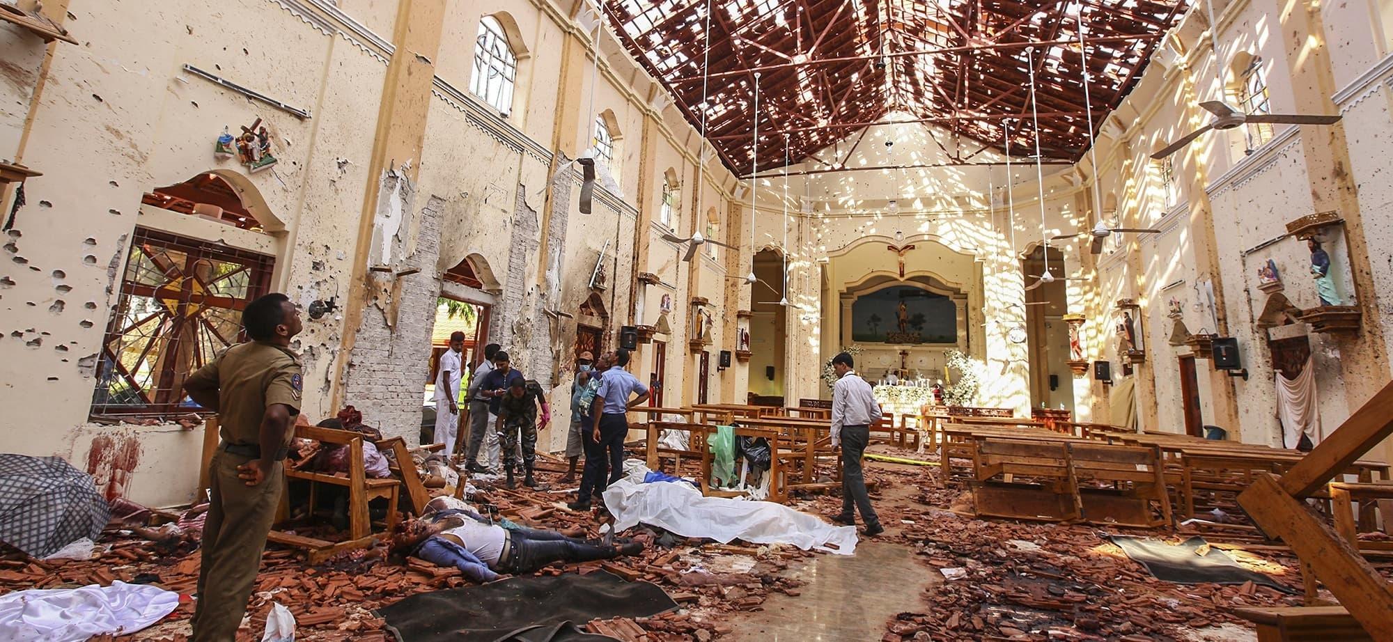 In Pictures: Gloom Cast Over Easter Celebrations After Explosions inside Liturgical Calendar In Sri Lanka