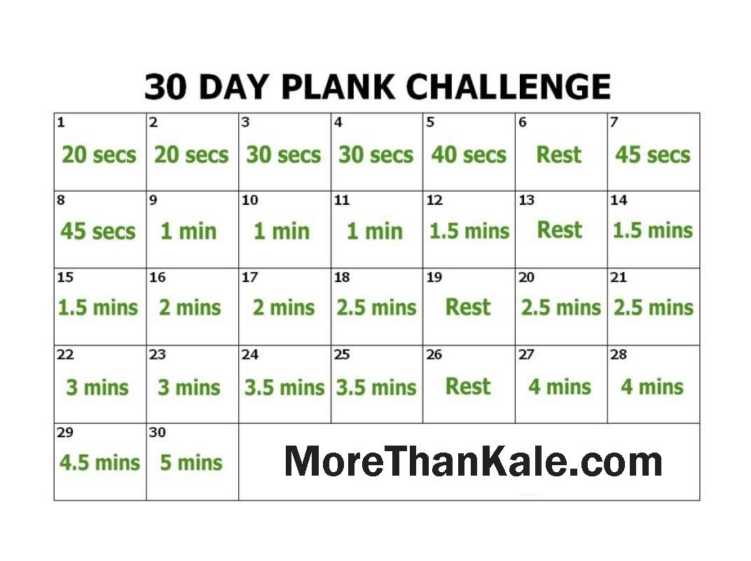 Innovative 30 Day Plank Challenge Printable Calendar | Abs & Core with regard to 30 Day Fitness Challenges Printable Charts