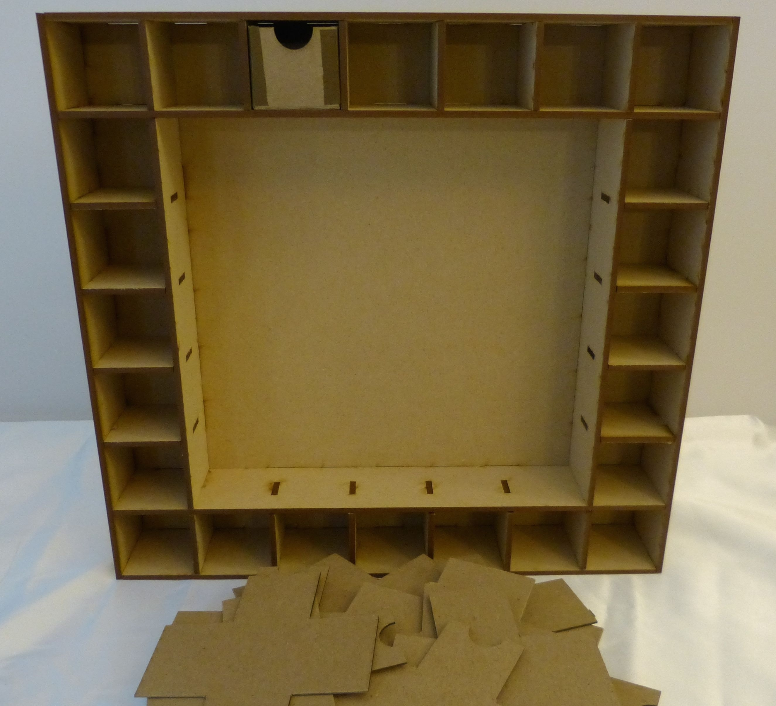 Instruction:advent Calendar Shadow Box For Sa Crafters Product in Wooden Shadow Box Advent Calendar