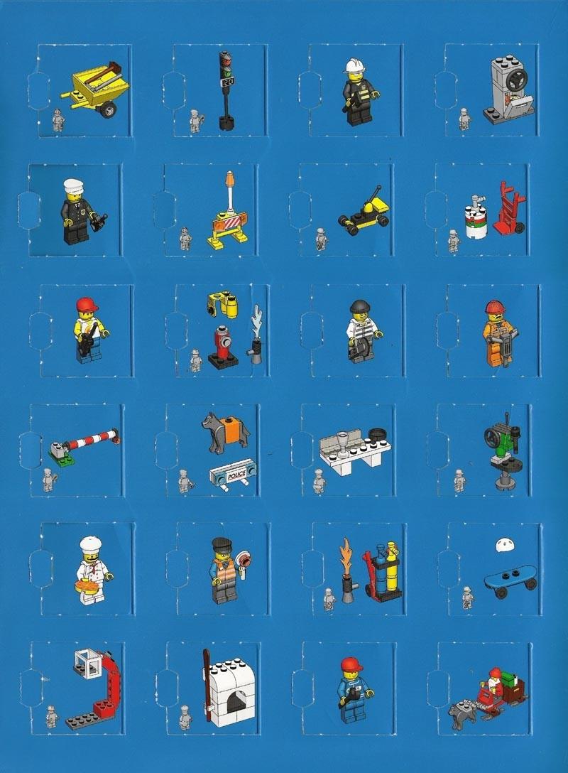 Instructions For 7324-1 - {Lego City} Advent Calendar | Bricks.argz within Lego Star Wars Instructions Advent Calendar