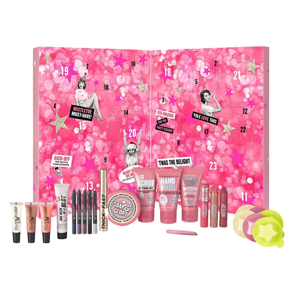 It's A Calendar, Girls! - Soap & Glory | Mecca for Girls Advent Calendar With Gifts