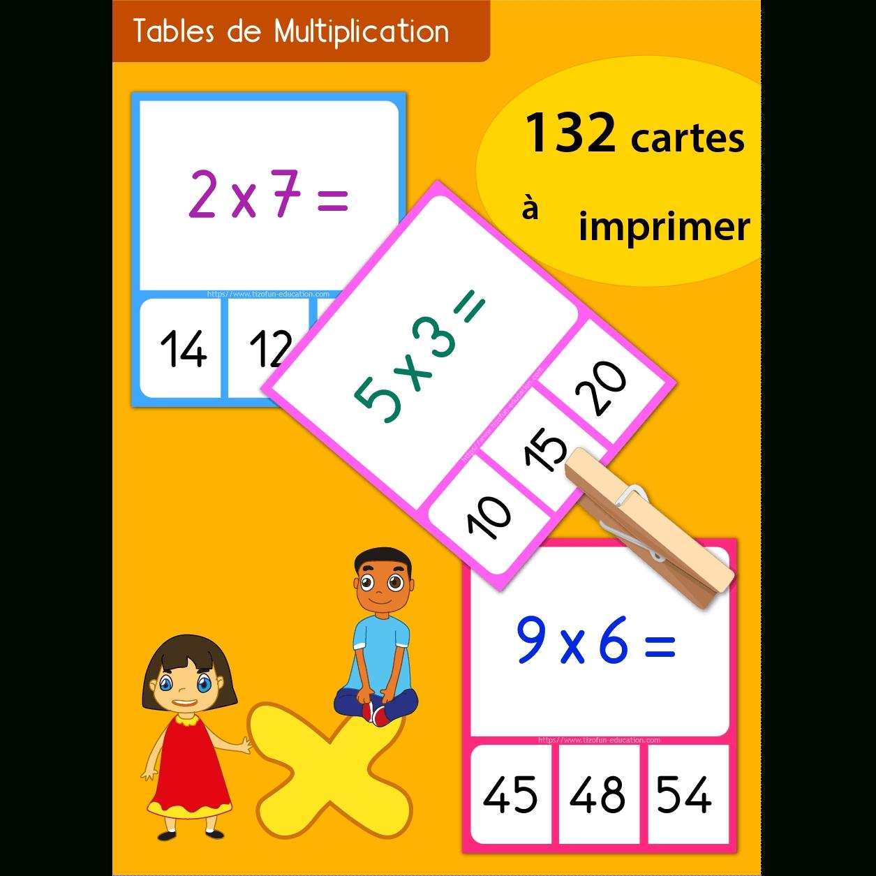 Jeu Memory Tables De Multiplication À Imprimer pertaining to Table De Multiplications A Imprimer Gratuit