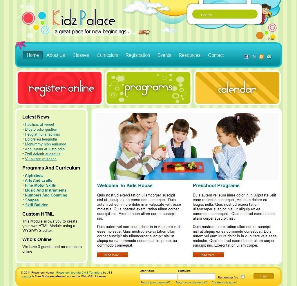 Joomla Templates 2.5 Free Children Store - Google Search | Joomla for Free Templates Online For Children
