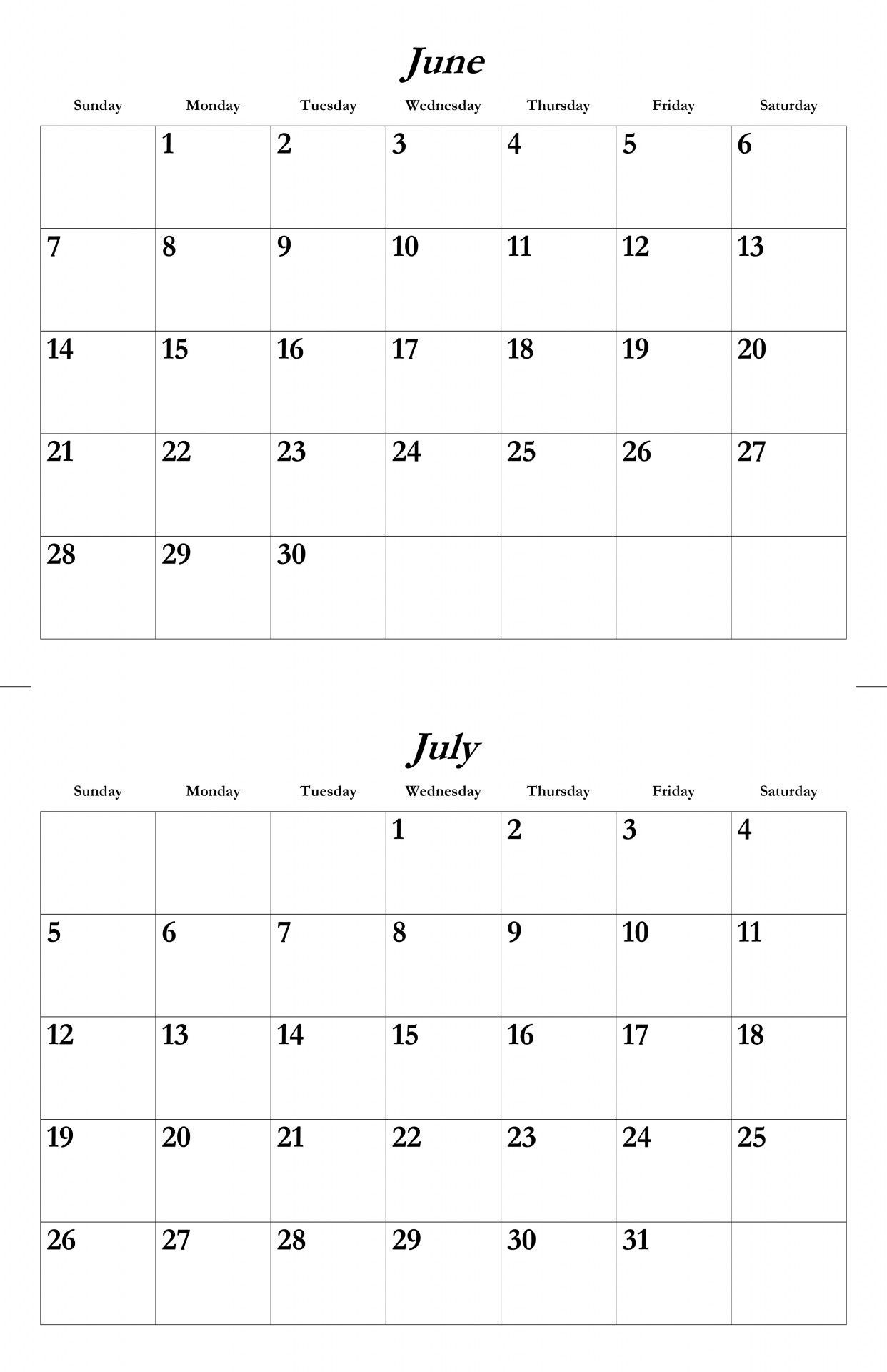June July August 2018 Calendar Three Month Calendar Template in June And July Calendar Printable