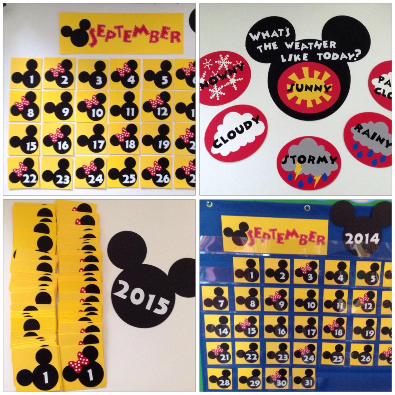 Kindergarten Preschool Disney 2019 / 2020 Calendar & Weather | Etsy inside 99 Days To Disney Printable Calendar