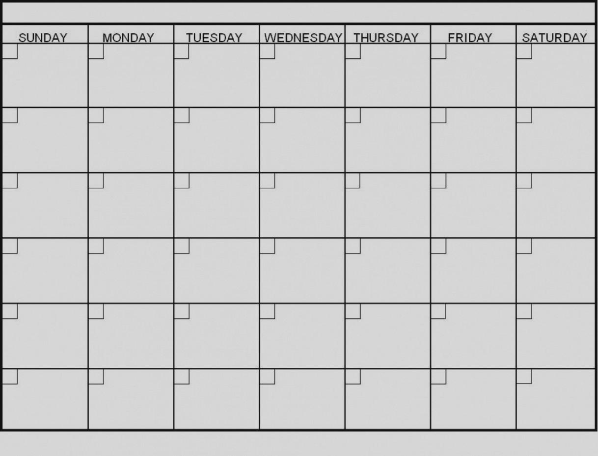 Latest Blank 6 Week Calendar Template Printable 2 Planner 2018 pertaining to 6 Week Blank Calendar Template