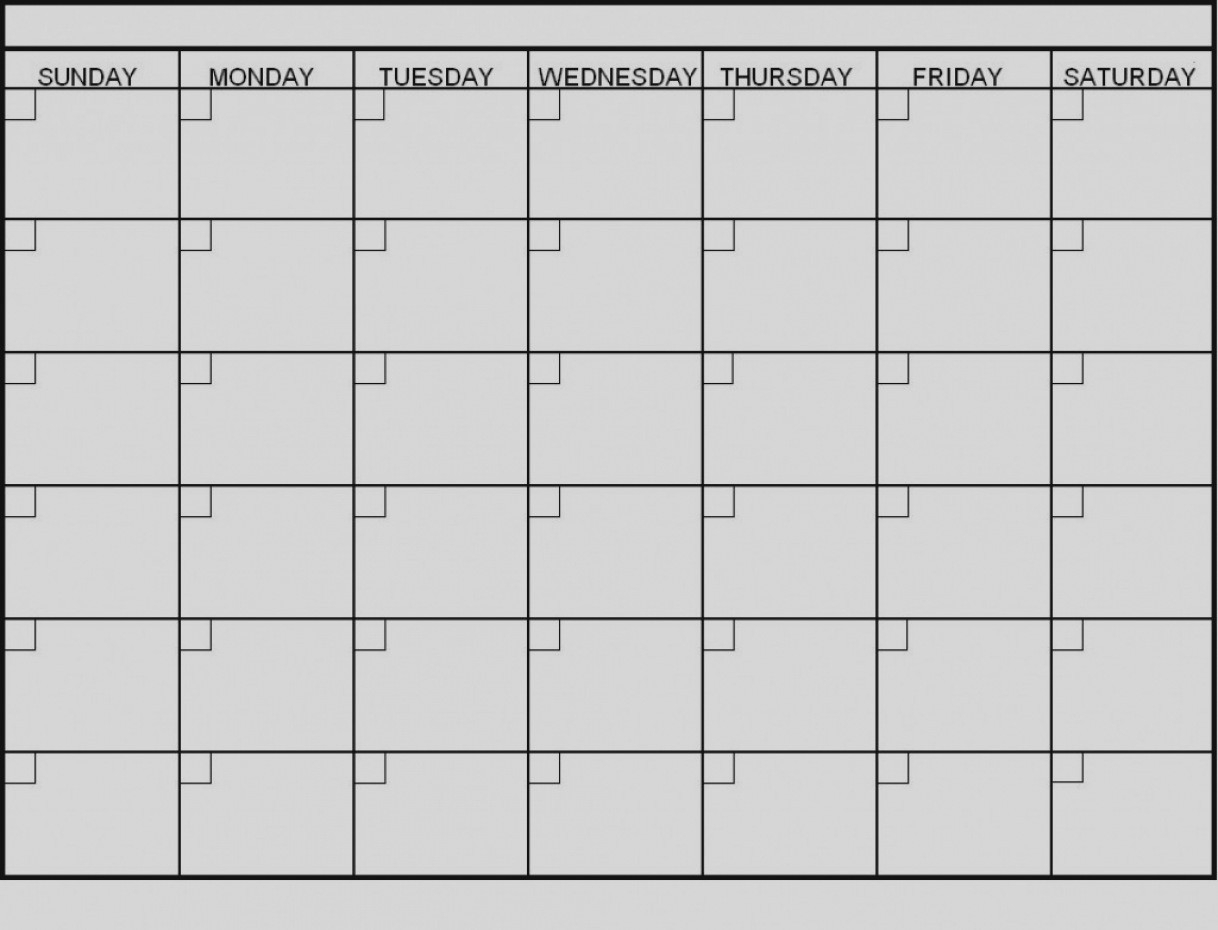 Latest Blank 6 Week Calendar Template Printable 2 Planner 2018 throughout 6 Week Calendar Template Printable
