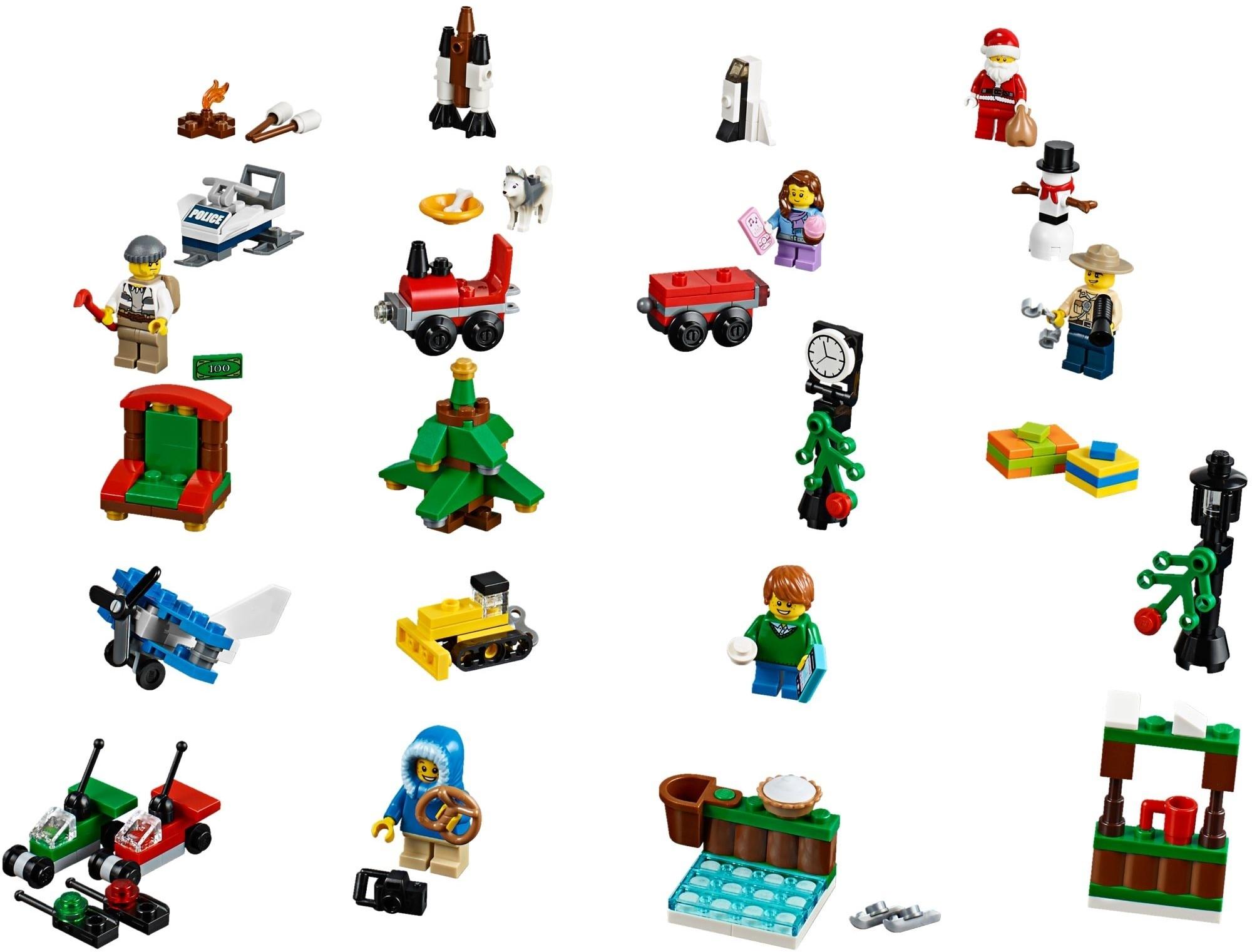 Lego City Advent Calendar Instructions 60099, City pertaining to Lego Star Wars Instructions Advent Calendar
