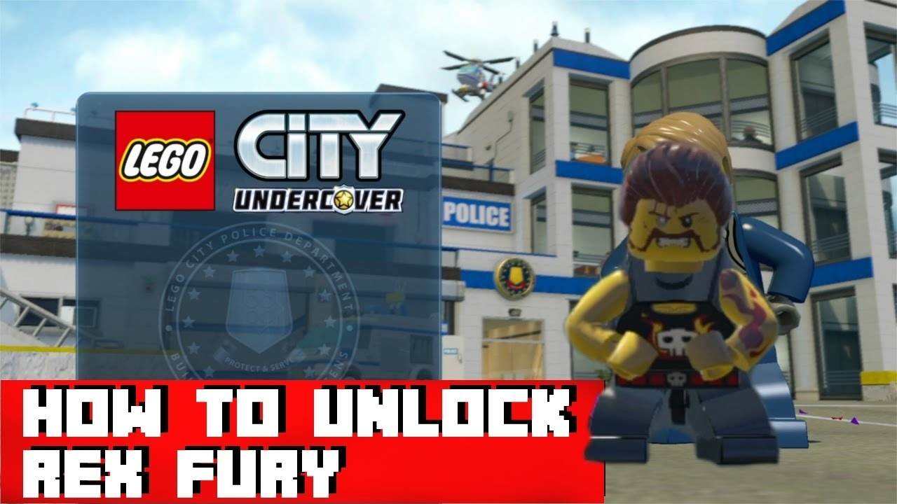 Lego City Undercover - How To Unlock Rex Fury - Youtube pertaining to Lego Star Wars Lego City Cheats