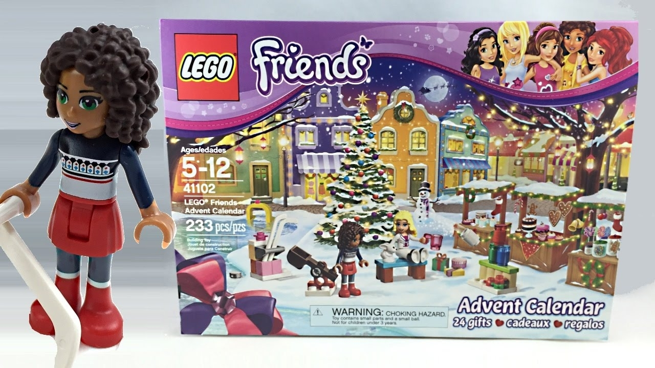 Lego Friends 2015 Advent Calendar Review! 41102 - Youtube pertaining to Girls Advent Calendar With Gifts