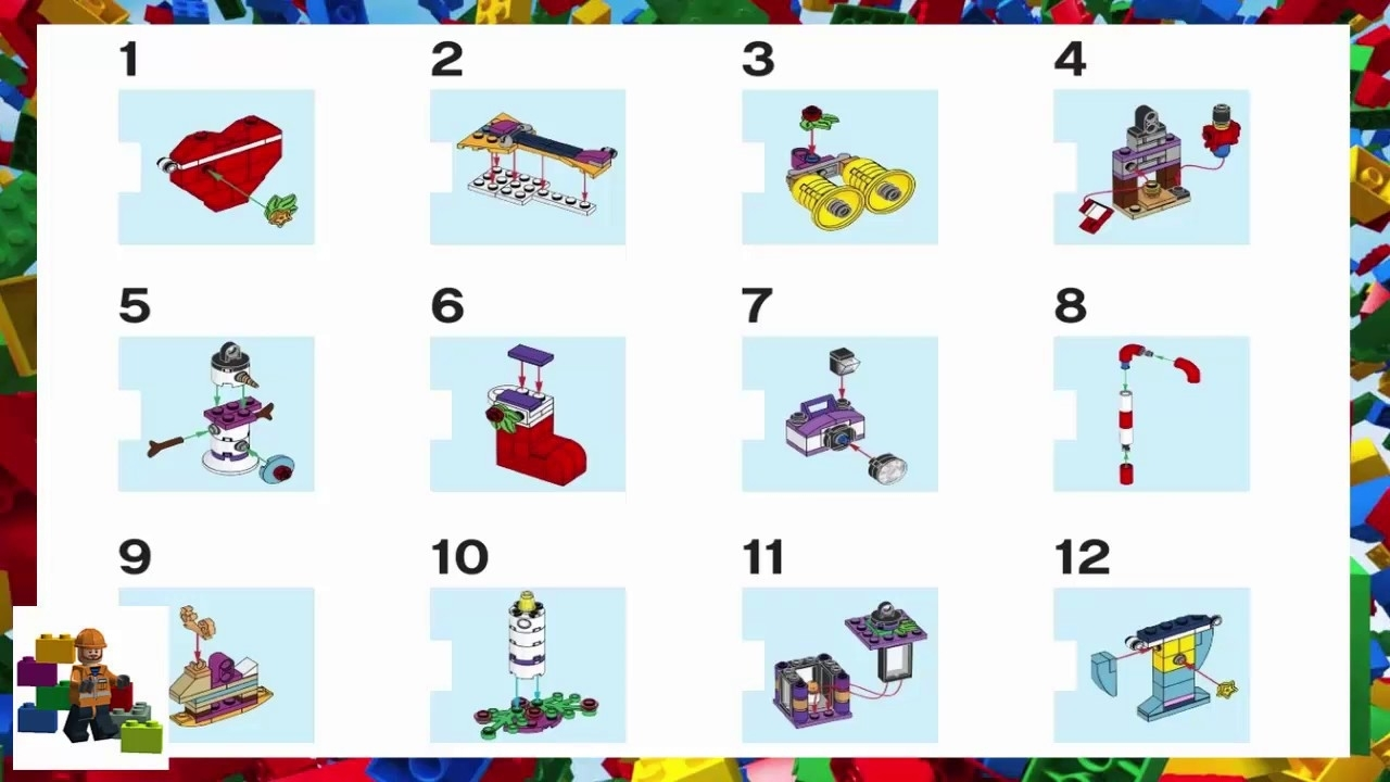 lego star wars instructions advent calendar calendar. Black Bedroom Furniture Sets. Home Design Ideas