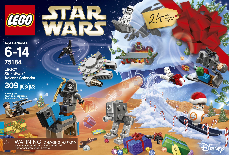 Lego Star Wars 2017 Advent Calendar 75184 - Walmart in All Star Wars Advent Calendar