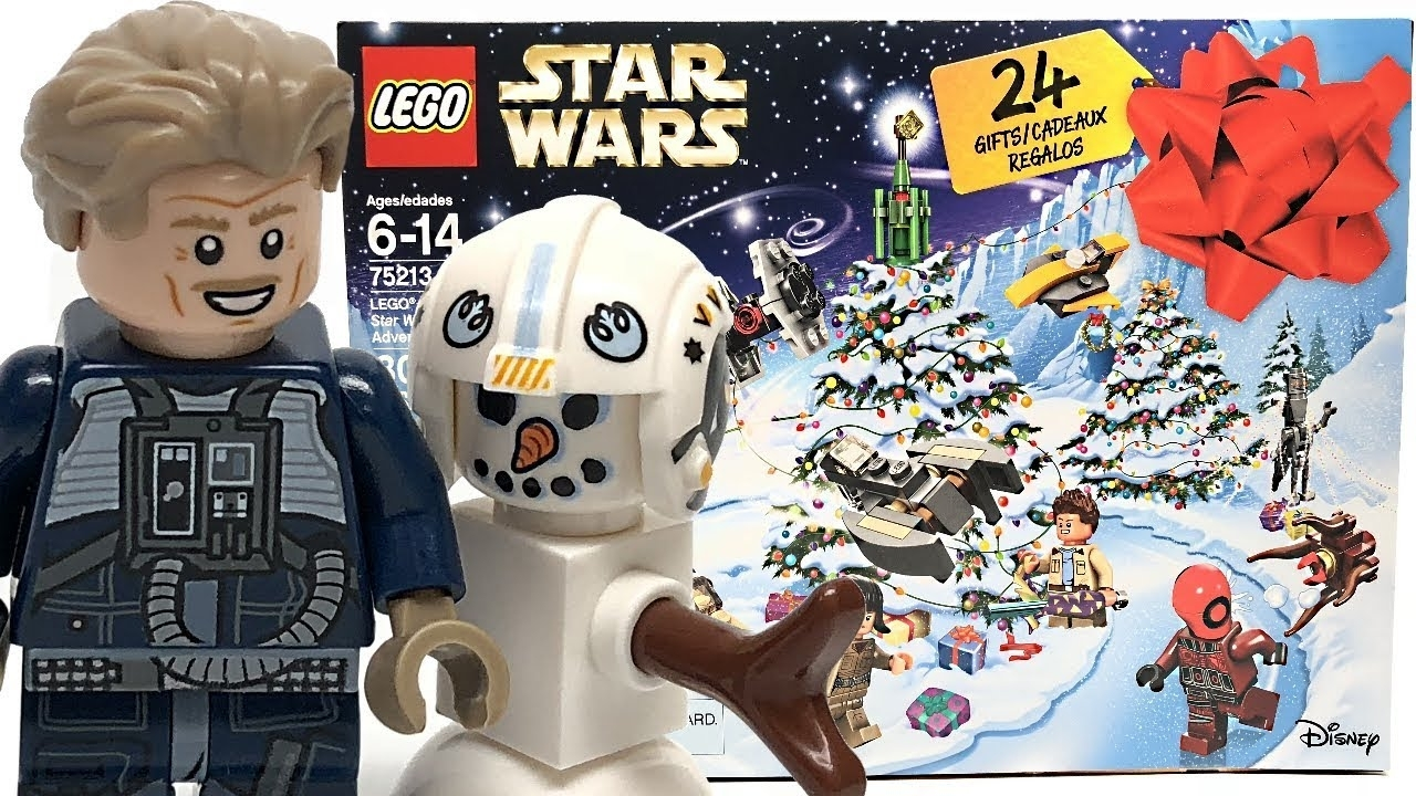 Lego Star Wars 2018 Advent Calendar Review And Unboxing! - Youtube for All Star Wars Advent Calendar