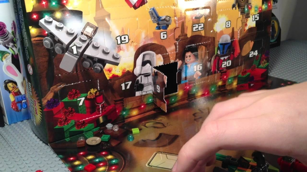 Lego Star Wars 75023 2013 Advent Calendar Live Build - Youtube within Star Wars 2013 Advent Calendar Codes