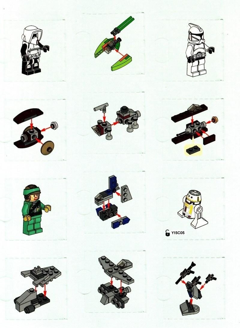 Lego Star Wars Advent Calendar 2011 Building Instructions – Di Lego for Lego Star Wars Instructions Advent Calendar