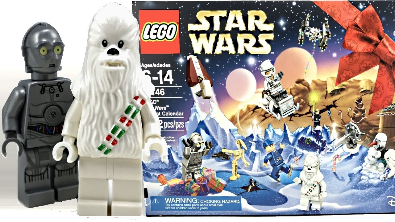 Lego Star Wars Advent Calendar 2016 Review And Unboxing! 75146 regarding All Star Wars Advent Calendar