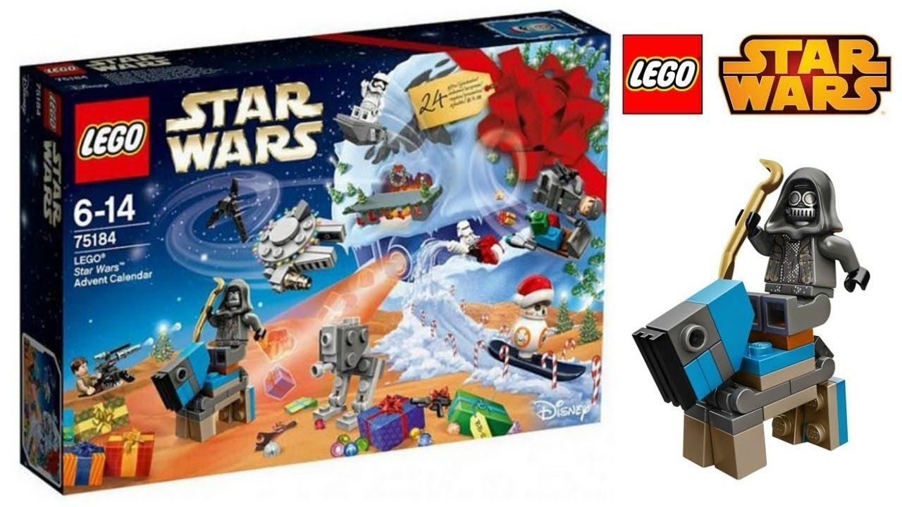 Lego Star Wars Advent Calendar 2017 - Youtube with All Star Wars Advent Calendar