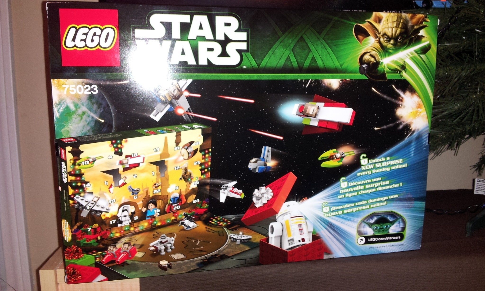 Lego Star Wars Advent Calendar: Days 1-4 throughout Advent Calendar 2013 Lego Star Wars Codes