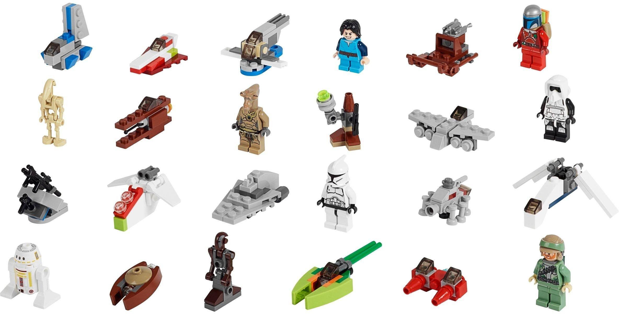 Lego Star Wars Advent Calendar Instructions 75023, Star Wars for Lego Star Wars Instructions Advent Calendar