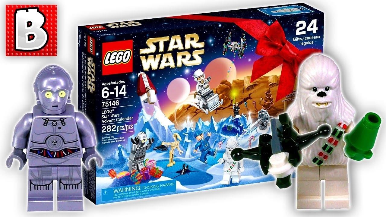 Lego Star Wars Advent Calendar Set 75146   Unbox Build Time Lapse regarding All Star Wars Advent Calendar