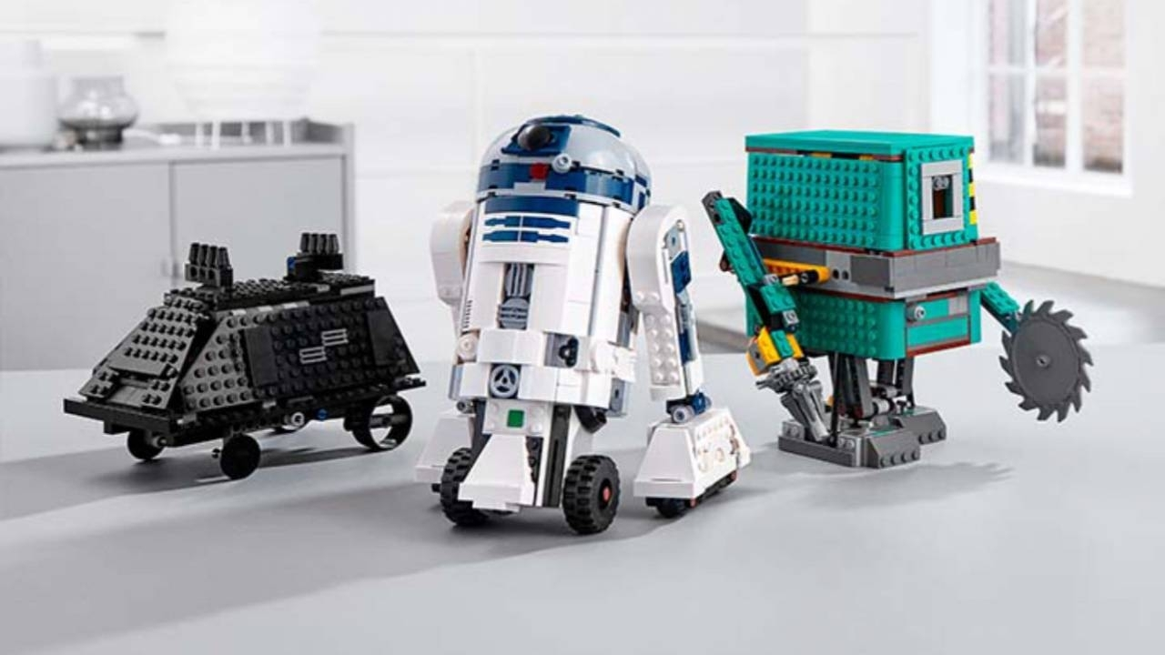 Lego Star Wars Boost Droid Commander Coding Kit Arrives This Fall for Star Wars Lego Sets Codes