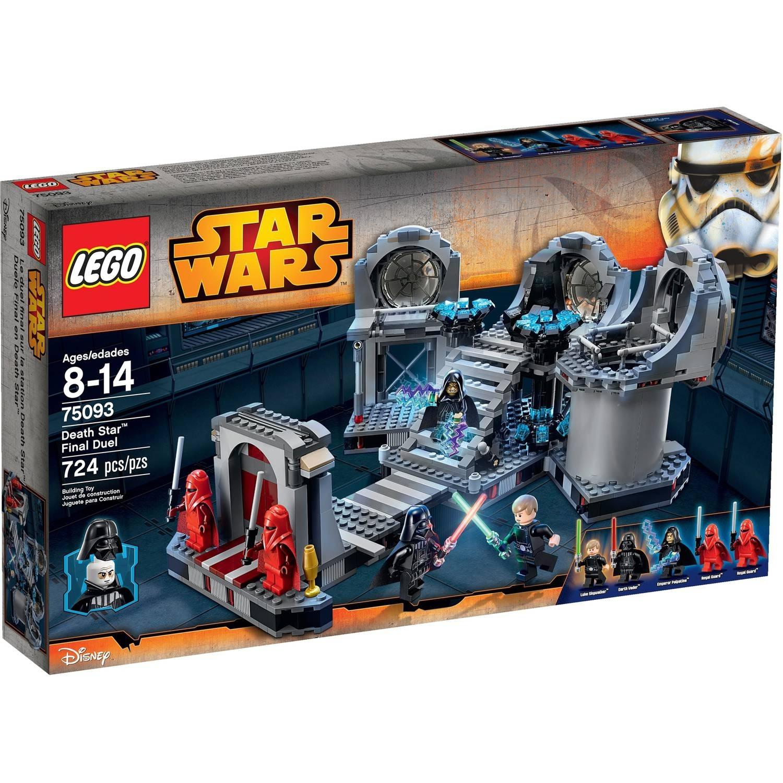 Lego Star Wars Death Star Final Duel - Walmart with Star Wars Lego Sets Codes