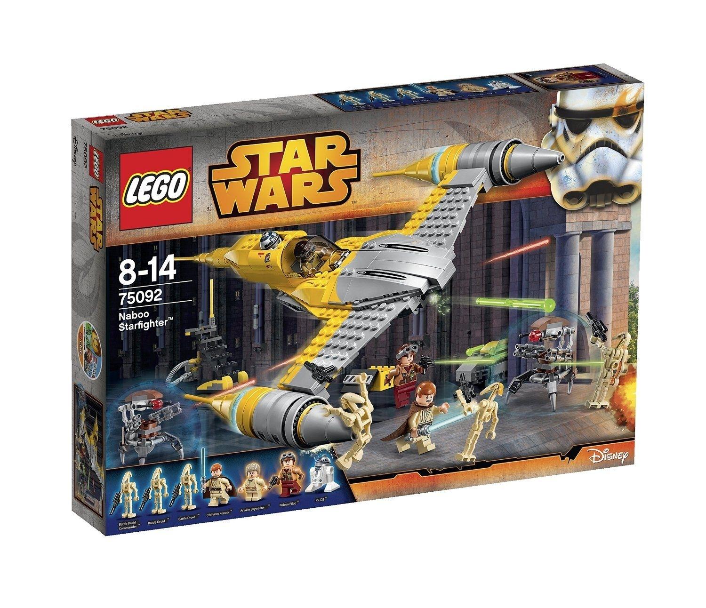 Lego Star Wars: Naboo Starfighter (75092) Manufacturer: Lego Enarxis with Star Wars Lego Sets Code