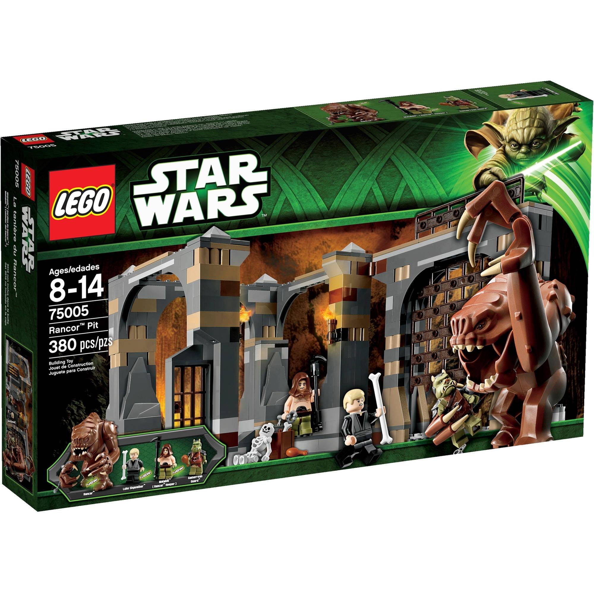 Lego Star Wars Rancor Pit Play Set - Walmart regarding Star Wars Lego Sets Code