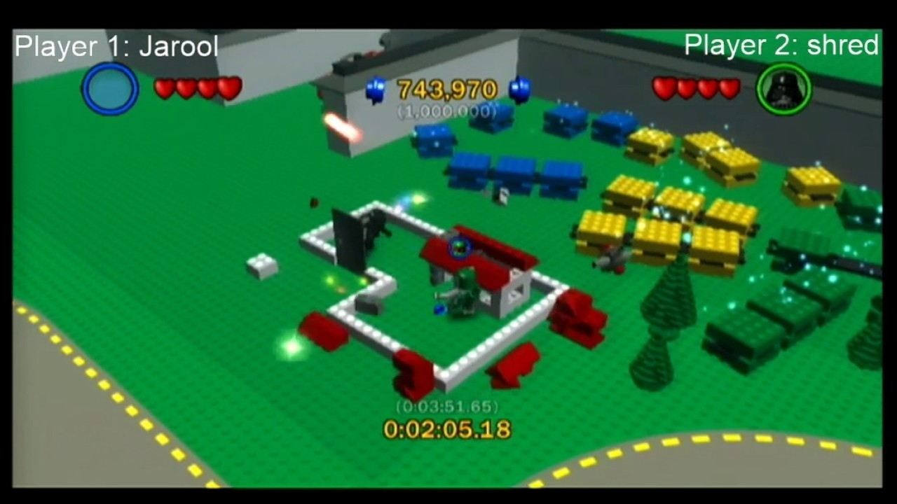 Lego Star Wars: The Complete Saga Lego City Co-Op Speedrun (3:30.54 intended for Lego Star Wars Lego City Cheats