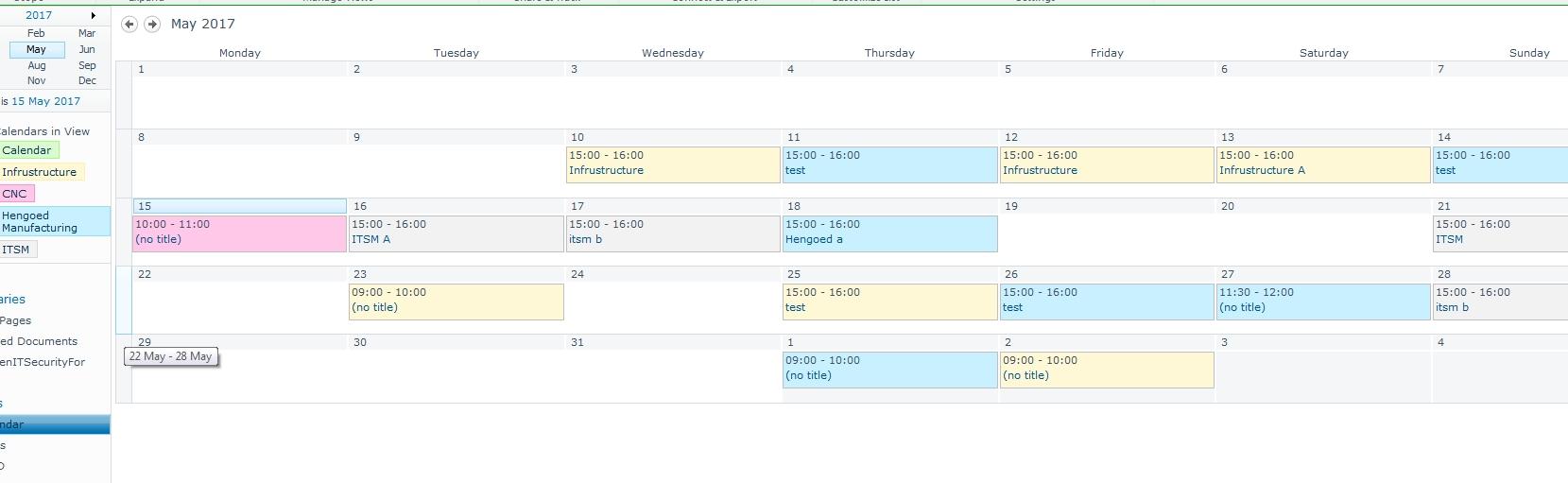 List - Making A Dropdown Choice Show Up In A Calendar View regarding Sharepoint 2013 Calendar Overlay Settings