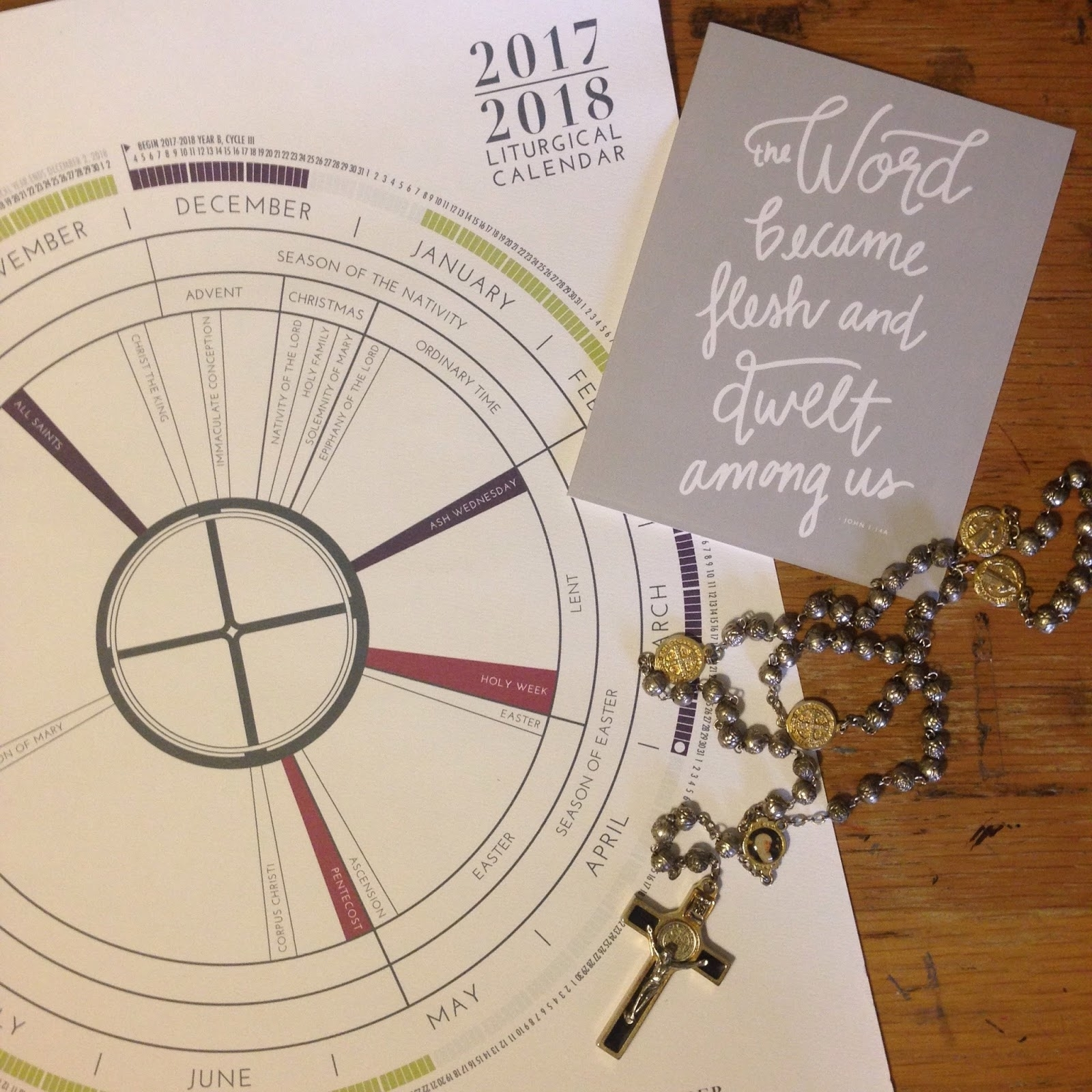 Look To Him And Be Radiant: Liturgical Living: Liturgical Calendars throughout Fill-In Your Own Liturgical Year Calendar