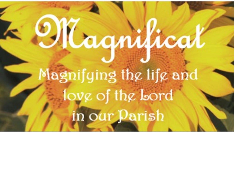 Magnificat – Blessed Sacrament Catholic Church for Free Blessed Sunday Images Roman Catholic