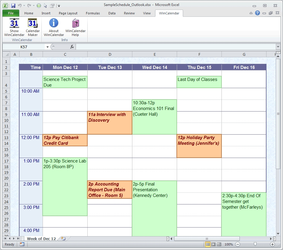 Make Weekly Calendar Excel Maker Creator For Word And Schedule | Smorad throughout How To Create A Weekly Calendar