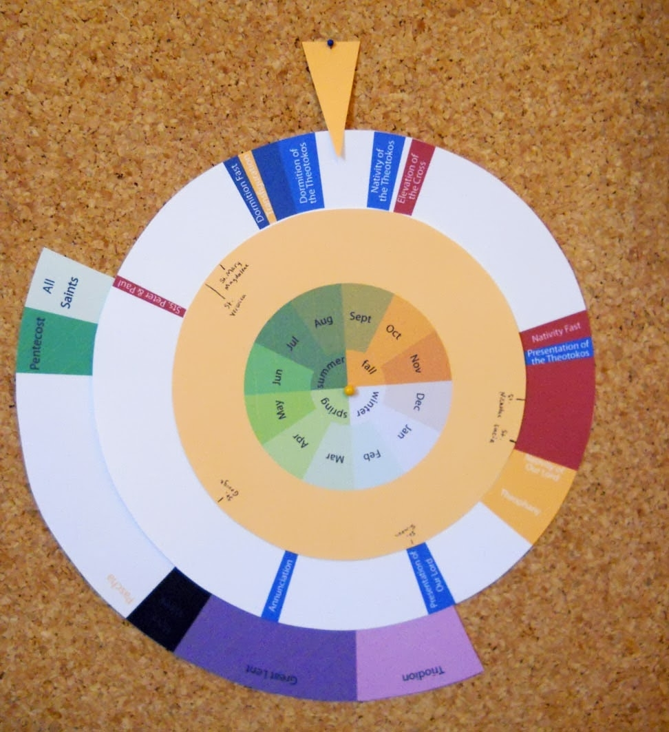 Many Mercies: Printables with regard to Wheel Of Church Year Printable For Children