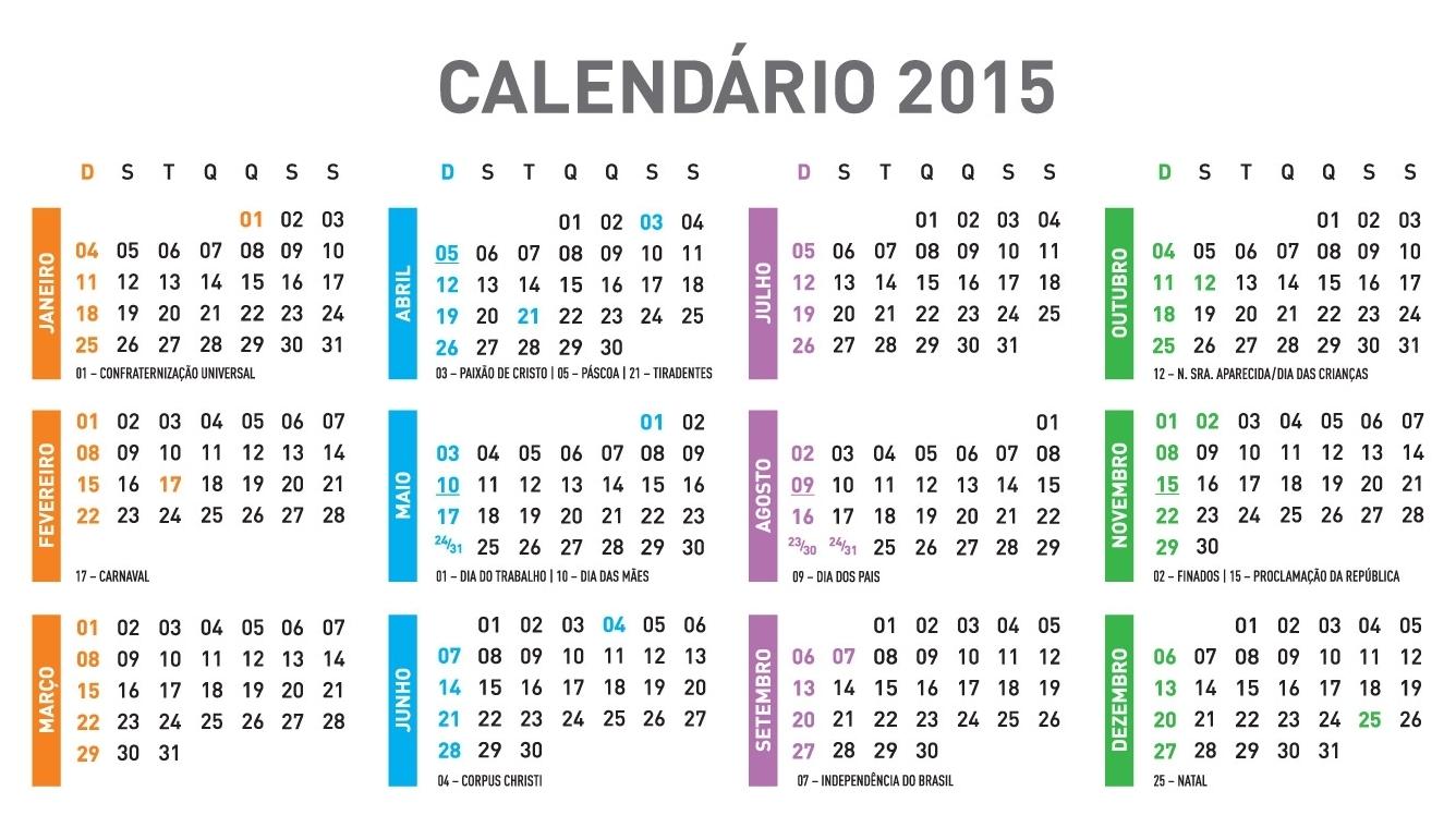 Map: Almanaque 2015 for Calendario 2015 Para Imprimir Pdf