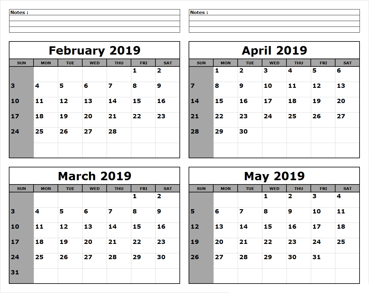 March April May 2019 Calendar Printable #march #april #may within 3 Month Calendar To Ptint
