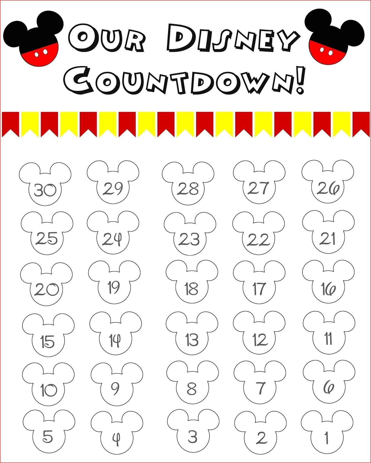 Minnie Mouse Disney Cruise Printable Countdown Printable Disney throughout Disney Cruise Countdown Calendar Printable