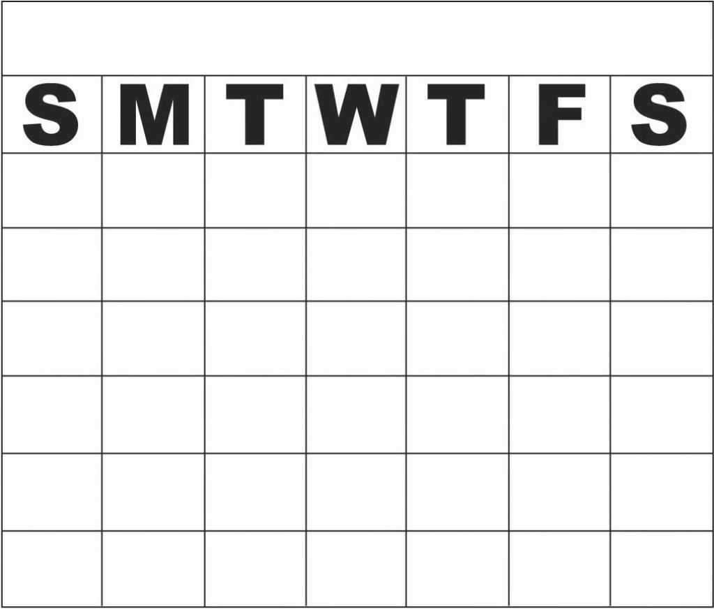Monday To Sunday Calendar Template Elegant Monday Thru Sunday pertaining to Printable Weekly Schedule Monday Thru Friday